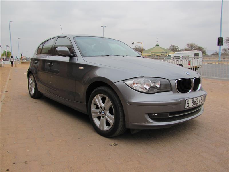 BMW 116i in Botswana