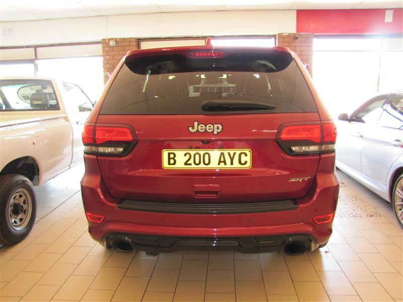 Jeep Cherokee SRT in Botswana