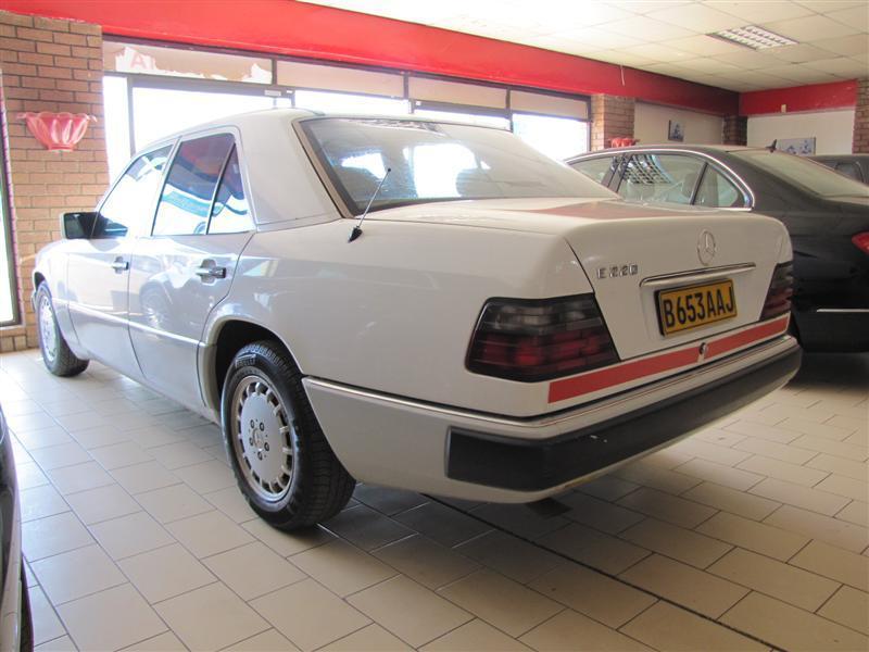 Mercedes Benz E220 in Botswana