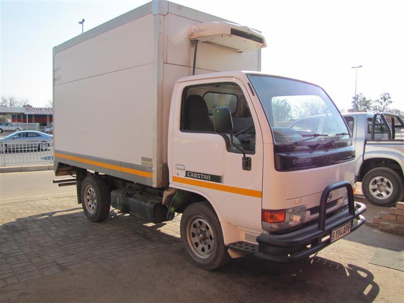 Nissan Cabstar Refrigerator Body in Botswana