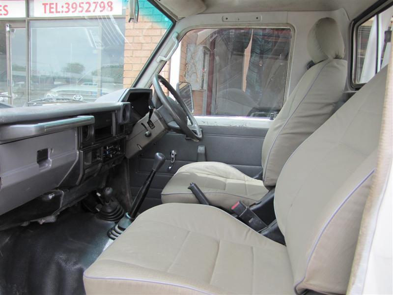 Toyota Land Cruiser in Botswana