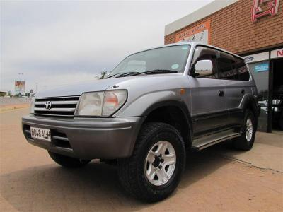 Toyota Land Cruiser Prado TX in Botswana