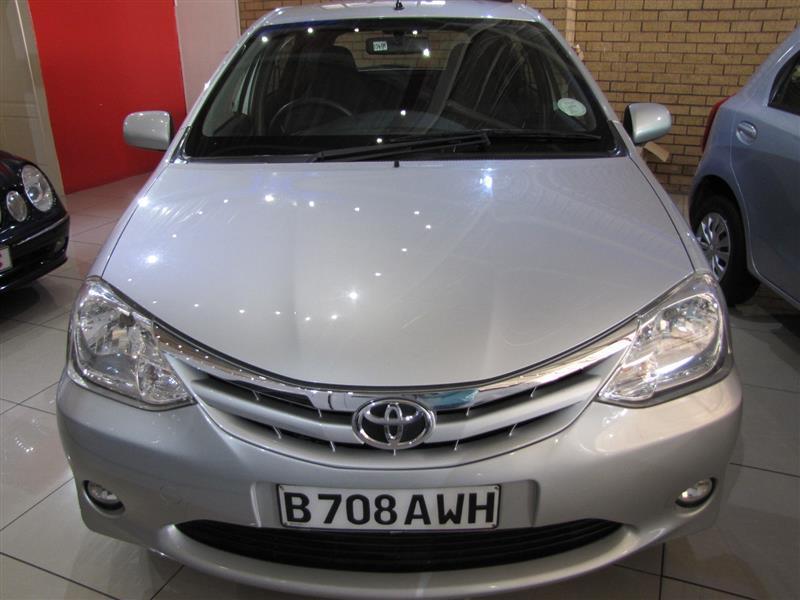 Toyota Etios in Botswana
