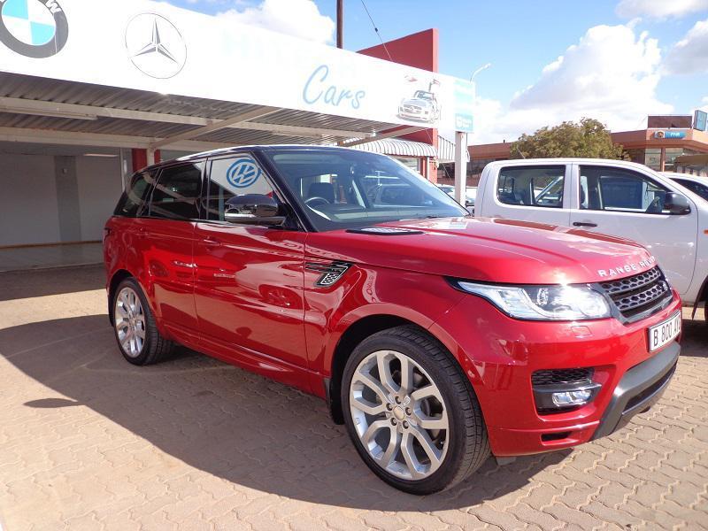 Land Rover Range Rover S SPORT in Botswana