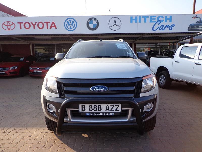 Ford Ranger WILDTRACK in Botswana