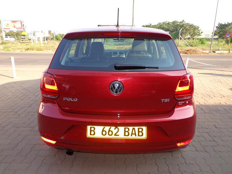 Volkswagen Polo DSG in Botswana