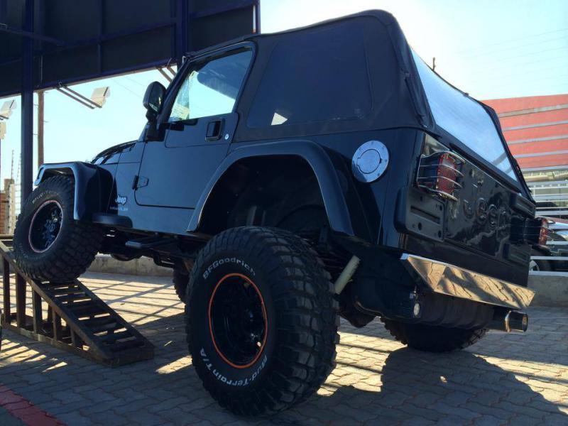 Jeep Wrangler in Botswana
