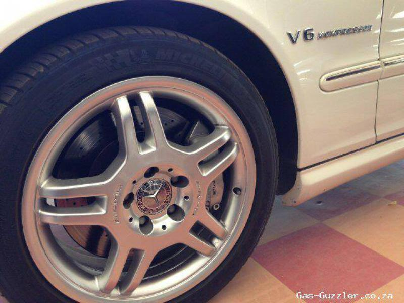 Mercedes-Benz C class C32 AMG in Botswana