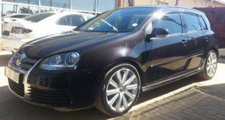 Volkswagen Golf R32 in Botswana