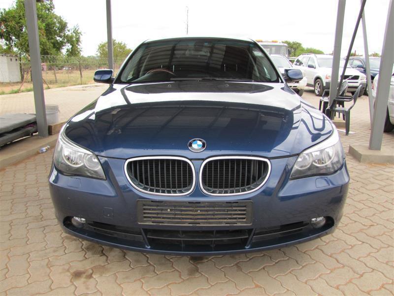 BMW 550i in Botswana