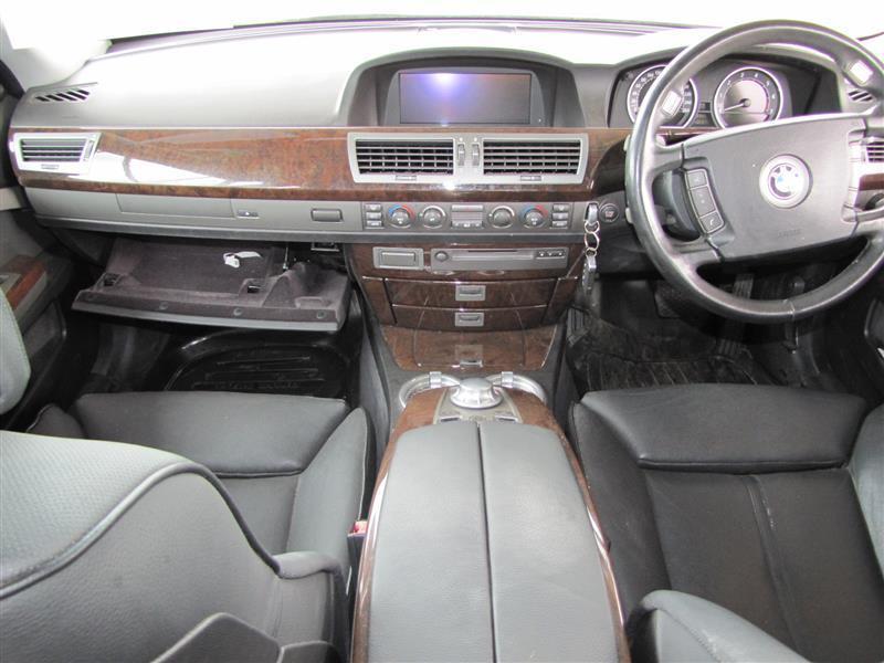 BMW 745i in Botswana