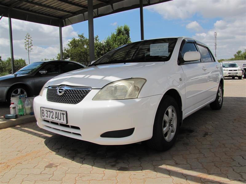 Toyota RunX in Botswana