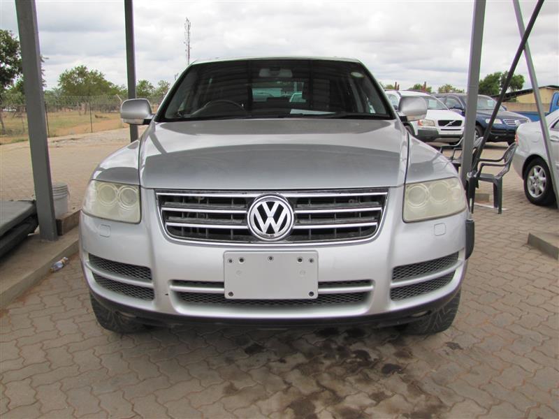 VW Touareg in Botswana