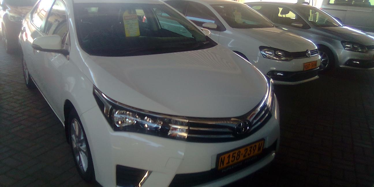 Used Toyota Corolla Prestige in Namibia