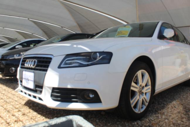 Audi A4 in Namibia