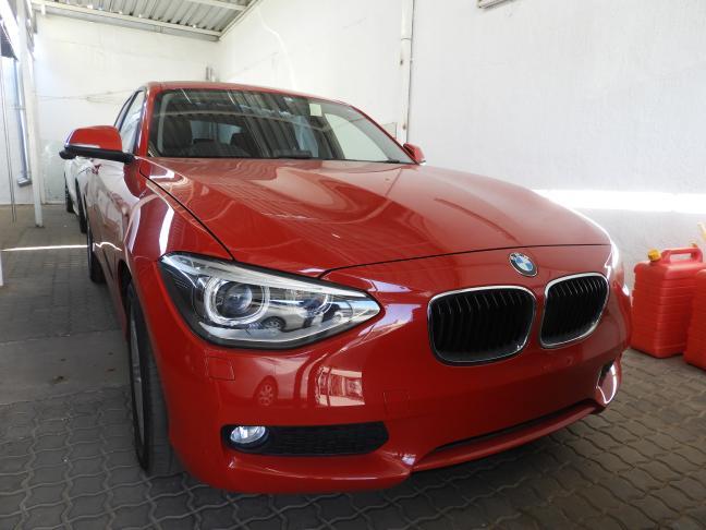 BMW 116i in Namibia