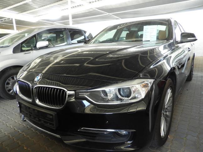 BMW 320i in Namibia