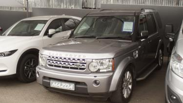 Land Rover Discovery 4 in Namibia