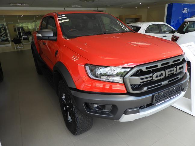 New Ford Ranger Raptor in Namibia