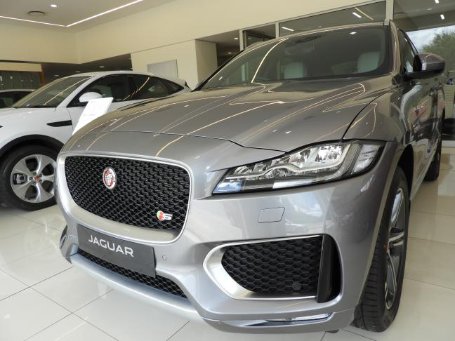 New Jaguar F-Pace in Namibia