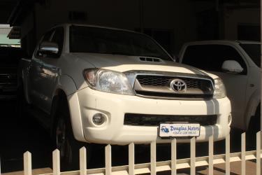 Toyota Hilux in Namibia