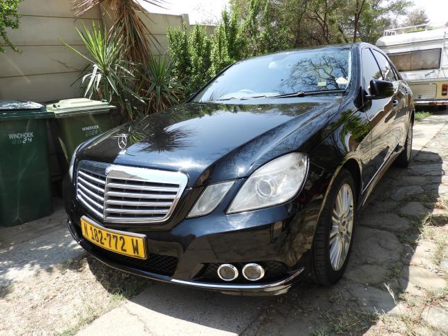 Used Mercedes-Benz E-380 V6 in Namibia