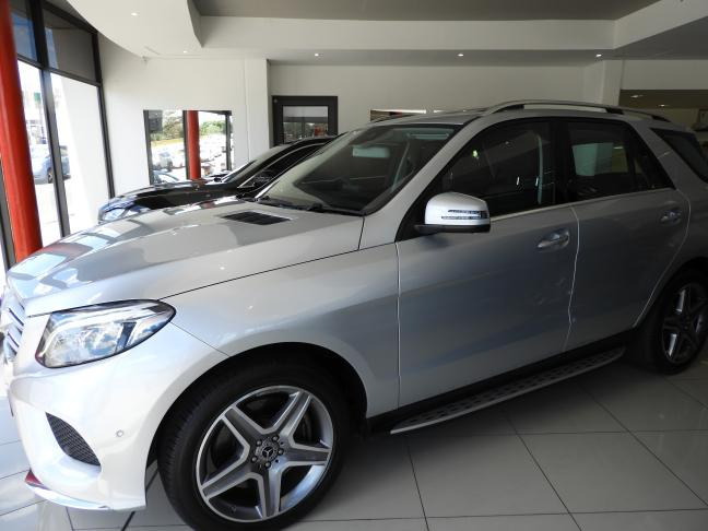 Used Mercedes-Benz GLE-500 V6 in Namibia