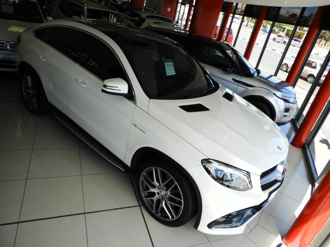Used Mercedes-Benz GLE Coupe AMG in Namibia