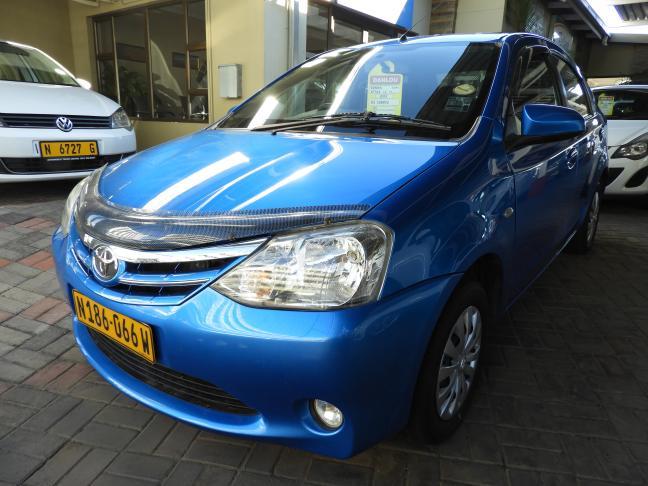 Used Toyota Etios in Namibia