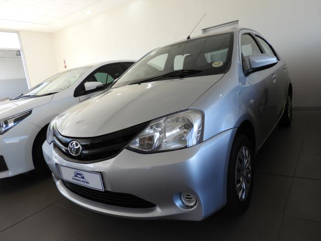 Used Toyota Etios in Namibia