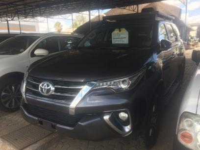 Used Toyota Fortuner GD6 in Namibia