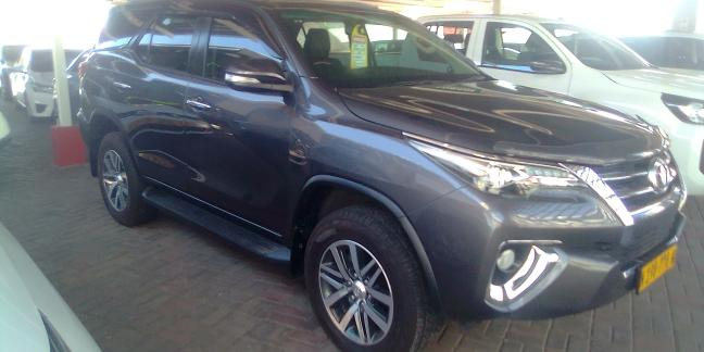 Used Toyota Fortuner MIT in Namibia