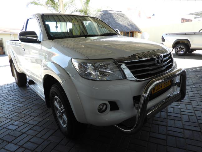 Used Toyota Hilux in Namibia