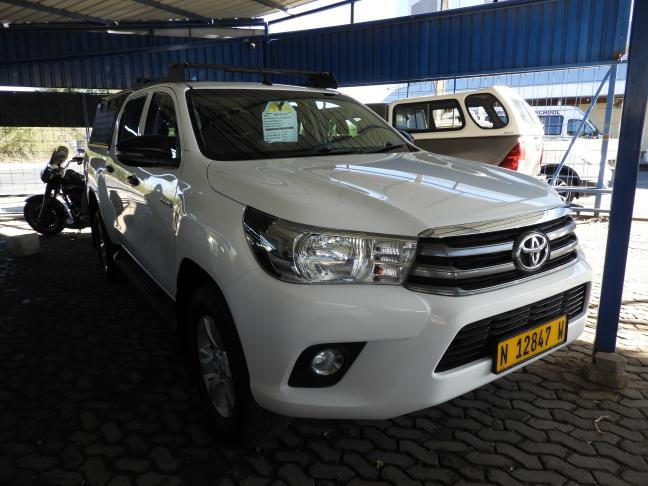 Used Toyota Hilux GD6 in Namibia