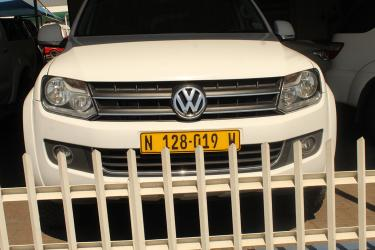Volkswagen Amarok in Namibia
