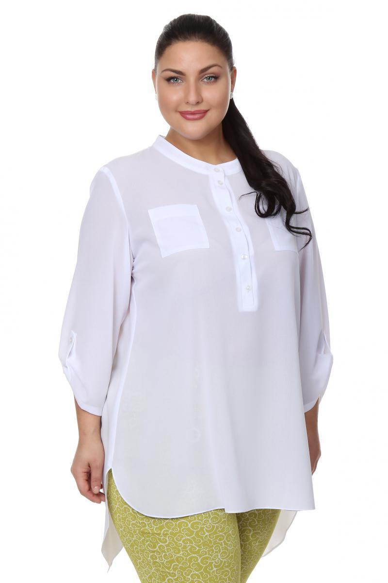 Белые блузки купить в интернет магазине больших размеров недорого в