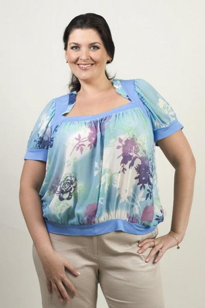 Цвет сиреневый блузки