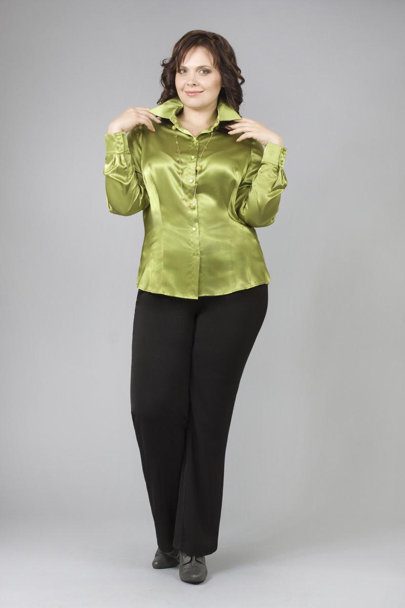 Блузка зеленая доставка