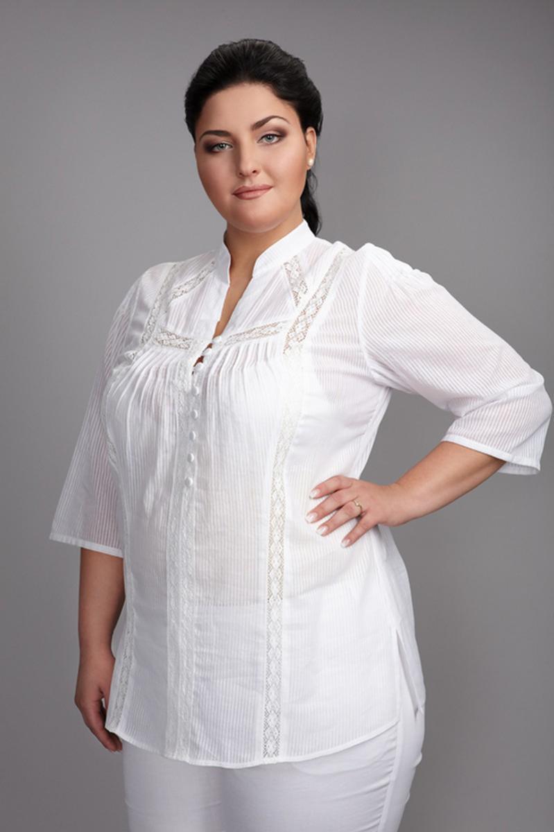 белые блузки для женщин 50 лет фото