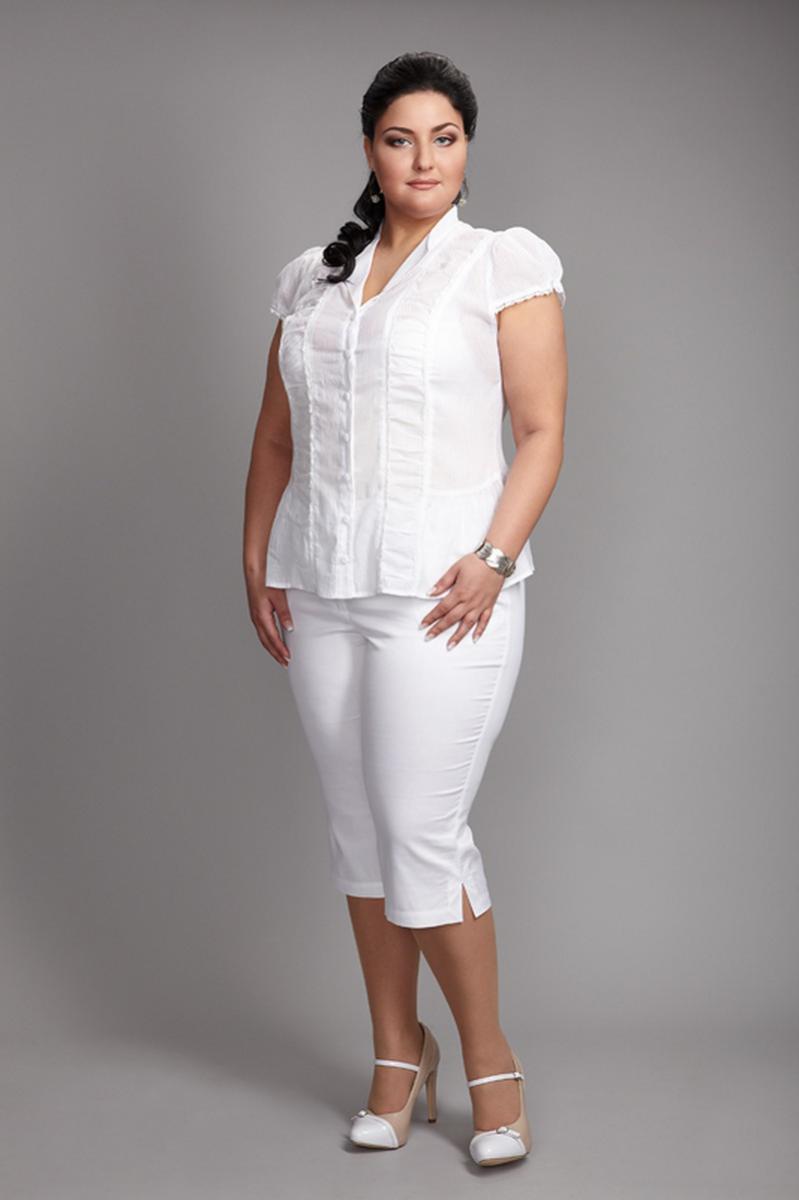 Блузка Белая 52 Размер Купить
