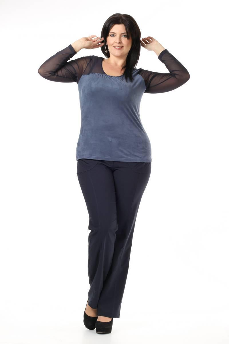 Трикотажные брюки большого размера доставка