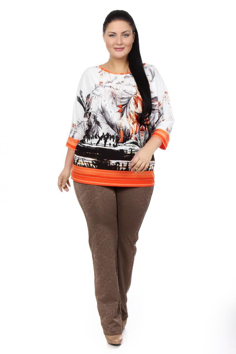 Оранжевая блузка доставка