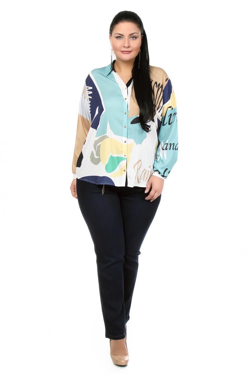 Блузки 58 размера доставка