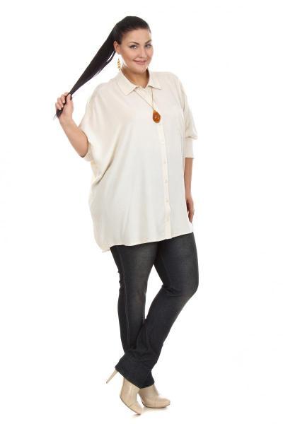 Блузки большого размера женские доставка