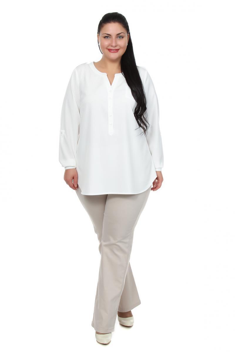 Блузка молочного цвета доставка
