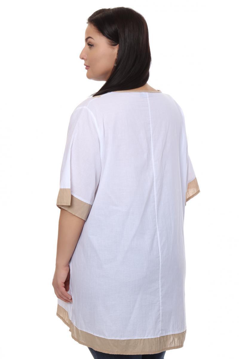 Белая Блузка Большого Размера