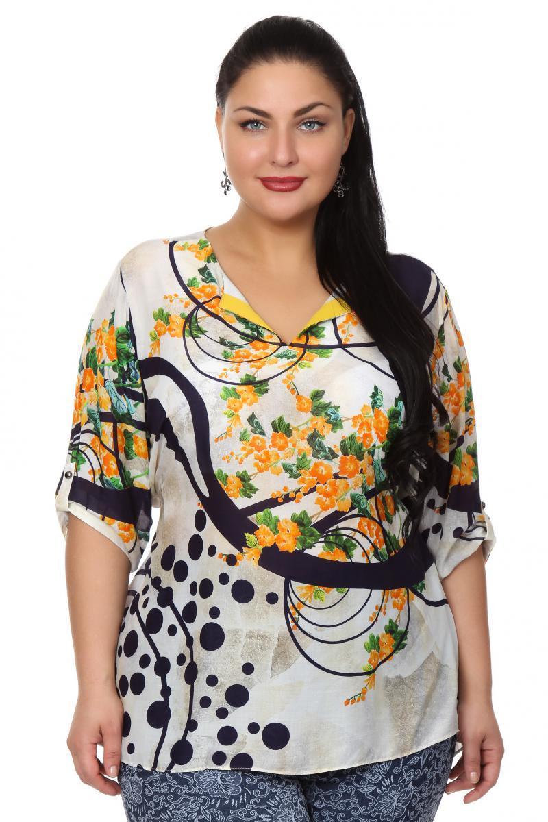 Блузка бежевого цвета с доставкой