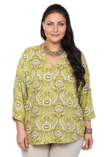 Блузка зеленого цвета доставка