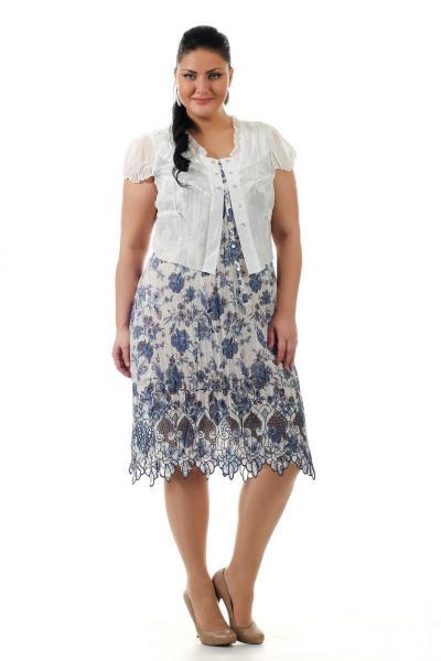 Белое Платье Большого Размера Купить