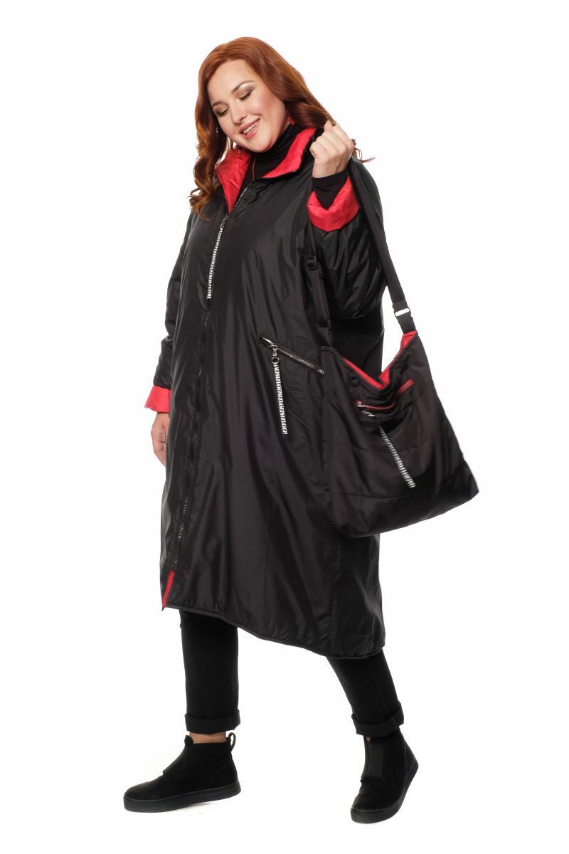 пальто двухстороннее с сумкой